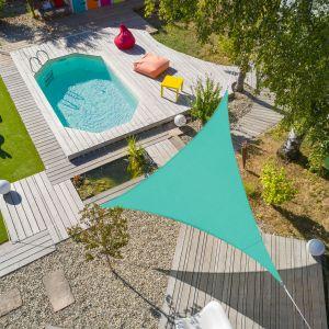 Voile d'ombrage triangulaire Flex 5 x 5 x 5 m - Lagon - JARDIDECO