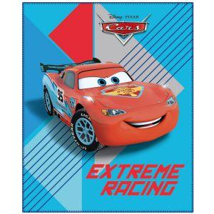 Plaid polaire racing Mc Queen Cars (110 x 140 cm)
