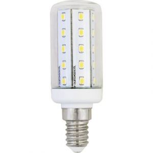 LightMe Ampoule LED E14 LM85100 forme conique 4 W = 35 W blanc chaud (Ø x L) 30 mm x 89 mm EEC: A++ 1 pc(s)