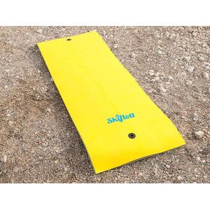 Waterflex Matelas simple flotteur Ski Flott 260cm x 90cm x 3,5cm Adapté pour lac mer piscine