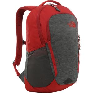 The North Face Vault Sac à dos, tnf dark grey heather/cardinal red Sacs à dos loisir & école