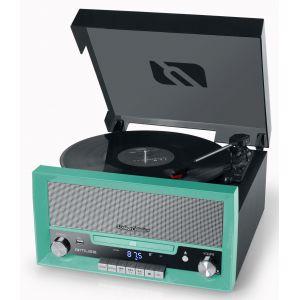 Muse MT-110 GR - Micro-système CD avec Platine Vinyle