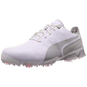 Puma Ignite PROADAPT, Chaussures de Golf Homme, White-Gray Violet, 41 EU