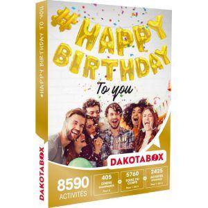 Dakota Box #Happy Birthday to you - Coffret cadeau