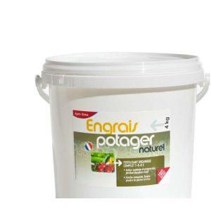 Agro Sens Engrais potager concentré tous légumes UAB 4 kg. NPK 7-6-8