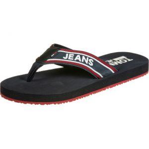 Tommy Jeans Claquettes STRIPE bleu - Taille 44
