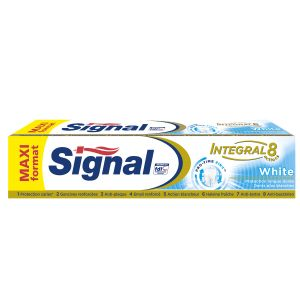Signal Integral 8 actions - Dentifrice white protection 18h