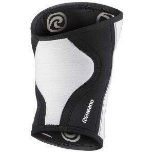 Rehband Protecteurs articulations Rx Knee Sleeve 5 Mm - White - Taille L