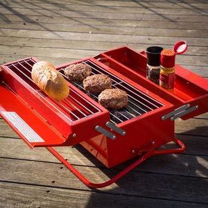 Suck uk Barbecue Toolbox à charbon