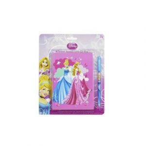 Sambro Agenda Deluxe avec stylo encre pailletée Princesses Disney