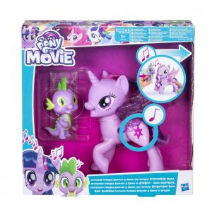 Hasbro My Little Pony Twilight + Spike Duo Chantant