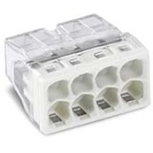 Wago 2273-208 - Borne boîte de dérivation compact 8 x 2.5 mm²