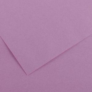 Canson 200040370 - Feuille Iris Vivaldi 50x65 240g/m², coloris lilas 17