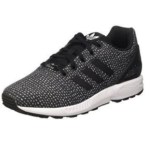 Adidas ZX Flux J, Basket Mode Enfant, Noir Core Black/FTWR White, 40 EU