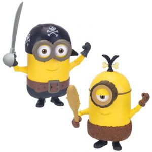 Mondo Figurine Build-A-Minion Pirate/Cro-Minion les Minions