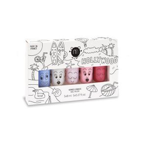 Nailmatic Coffret 5 vernis à ongles Hollywood