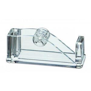 Maul 19570-05 - Dérouleur de bande adhésive (sans bande adh.), acrylique, transparent