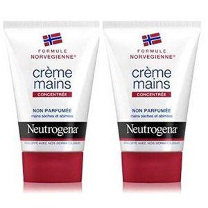 Neutrogena Creme Mains Concentree Non Parfumee Tube Lot 2 x 50ml