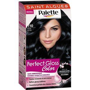 Saint Algue Palette Noir Givré 110. Perfect Gloss Color. Sans Amoniaque durable jusqu'à 8 semaines.
