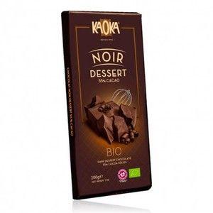 Kaoka Chocolat Bio Noir Dessert 55% 200g
