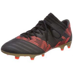 Adidas Nemeziz 17.3 FG, Chaussures de Football Homme, Multicolore (C Black C Black S O L Re D), 42 EU
