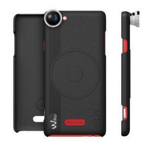 Wiko Coque avec lentille Fish Eye (noir) - Selfy 4G