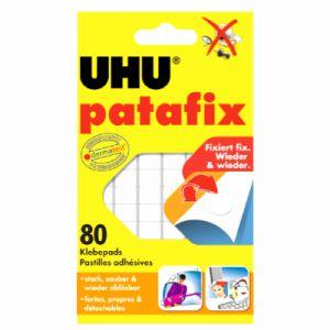 UHU Etui de 80 pastilles adhésives Patafix