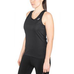 Asics Silver - Débardeur running Femme - noir L T-Shirts Running