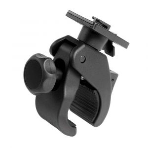 Cellularline Support Clip Interphone Pour Guidon Tubulaire De 15 À 50 Mm De Diamètre