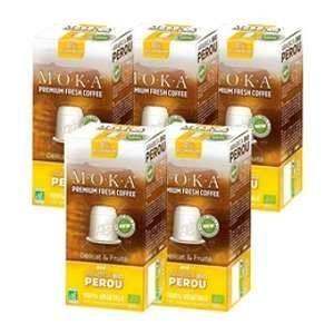 50 Capsules Pérou Biodégradable compatibles Nespresso - Moka