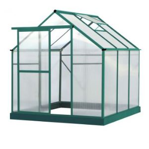 lams 700675 serre lilas en alu et polycarbonate 5 06 m2 comparer avec. Black Bedroom Furniture Sets. Home Design Ideas