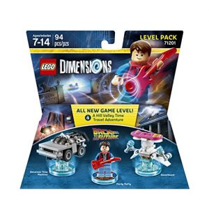Lego Back To The Future Level Pack Dimensions