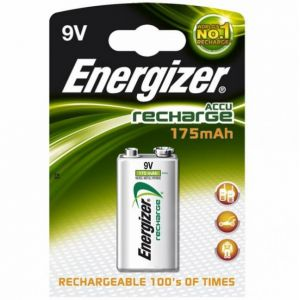 Energizer Accu Recharge Power Plus 6LR61