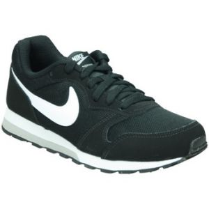 Nike MD Runner 2 (GS), Sneakers Basses Garçon, Noir (Black/White-Wolf Grey 001), 37.5 EU