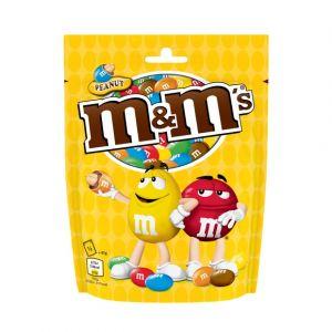 M&m's Cacahuètes enrobées de chocolat au lait et dragéifiées - Le pochon de 165g