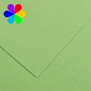 Canson 200040804 - Feuille Iris Vivaldi A4 240g/m², coloris vert pomme 27