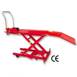 Autoselect 4840024 Table de levage hydraulique pont élévateur 360Kg pour moto