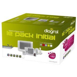 Diagral DIAG02ASF - Alarme multizones appartement animaux