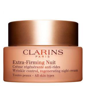 Clarins Extra-Firming Nuit - Crème riche régénérante anti-rides toutes peaux