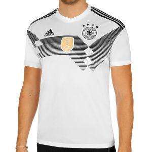 Adidas Maillot de Foot DFB WM 2018 Maillot Domicile, Blanc/Noir, S