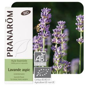 Pranarôm Huile essentielle lavande aspic bio 10 ml