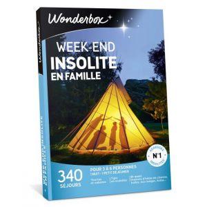 Wonderbox Week-end insolite en famille - Coffret cadeau 340 séjours