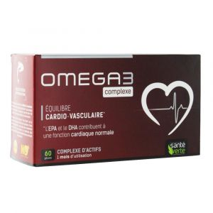 Sante verte Oméga3 complexe 60 gélules