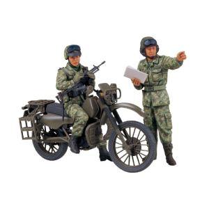 Tamiya 35245 - Maquette moto JGSDF militaire