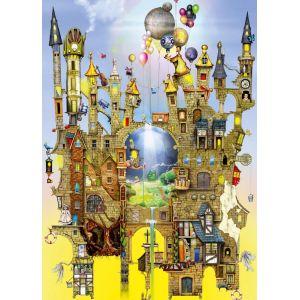 Schmidt Château dans les airs - Puzzle Colin Thompson 1000 pièces
