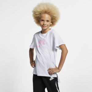 Nike Tee-shirt Sportswear Fille plus âgée - Blanc - Taille XL - Female