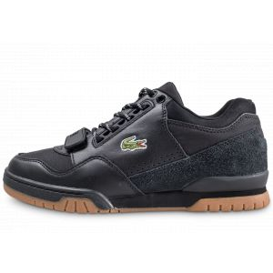 Lacoste Missouri 318 1 G SPM Blk Gum Leather Textile Suede Pointure 44