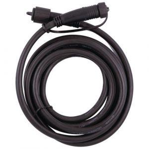 Lumihome DEC_R1M-24ET Rallonge Câble 1M H07RN-F 2 x 1mm² + Connecteur IP67 mâle / femelle -
