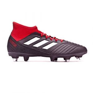 Adidas Predator 18.3 SG, Chaussures de Football Homme, Noir