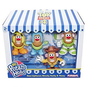 Monsieur Patate Pack de 4 Mini Patates Jouet enfant 2 ans La Patate du film Toy Story Jouet 1er age